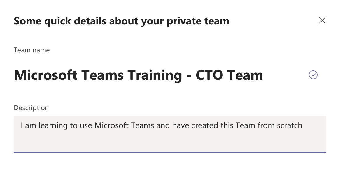 CTO Training in Microsoft Teams