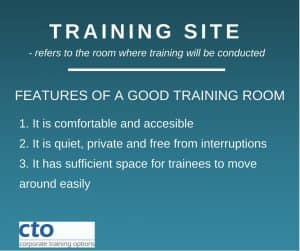CTO Computer Training Room setup