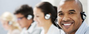Happy Call Centre Staff