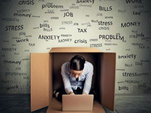 Money worries, overwhelm at work, poor time management, can all lead to workplace stress